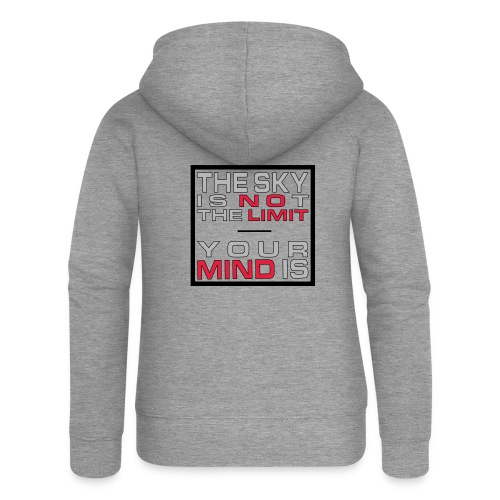 No Limit Mind - Frauen Premium Kapuzenjacke