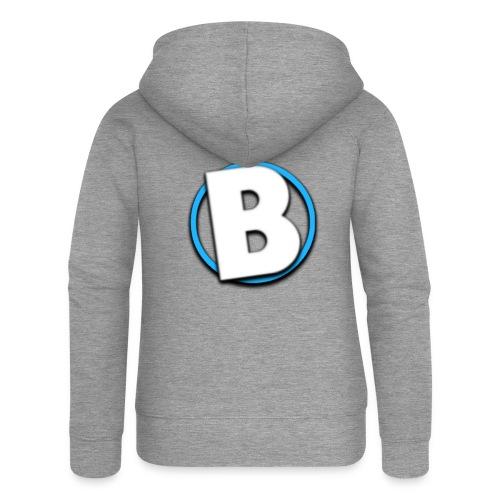 Bumble Logo - Women's Premium Hooded Jacket