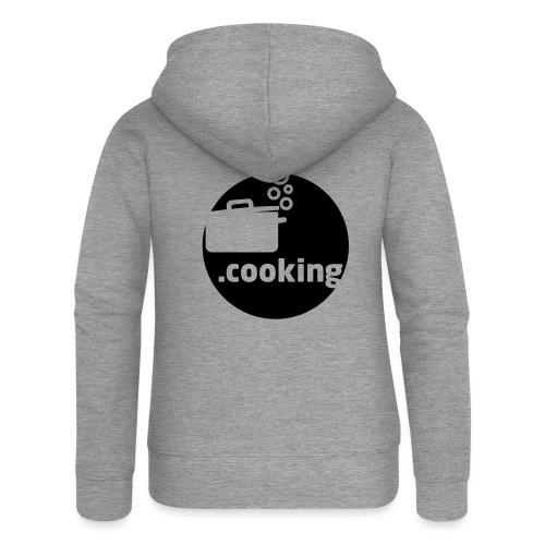 dot.cooking motiv kochtopf | gestalte selber dein - Frauen Premium Kapuzenjacke