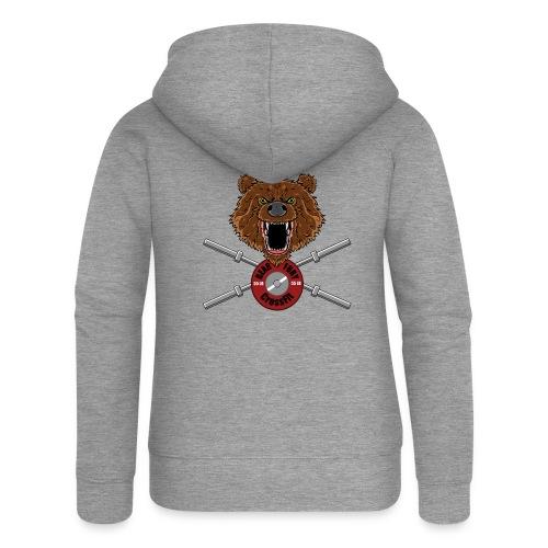 Bear Fury Crossfit - Veste à capuche Premium Femme