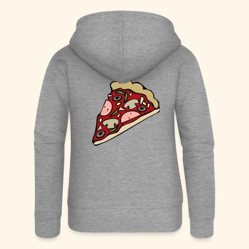 Pizza - Veste à capuche Premium Femme