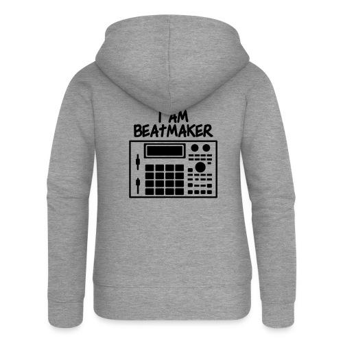 i am beatmaker - Veste à capuche Premium Femme