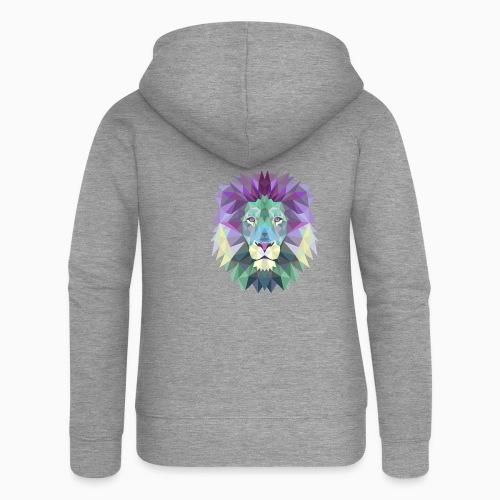 Lion - Veste à capuche Premium Femme