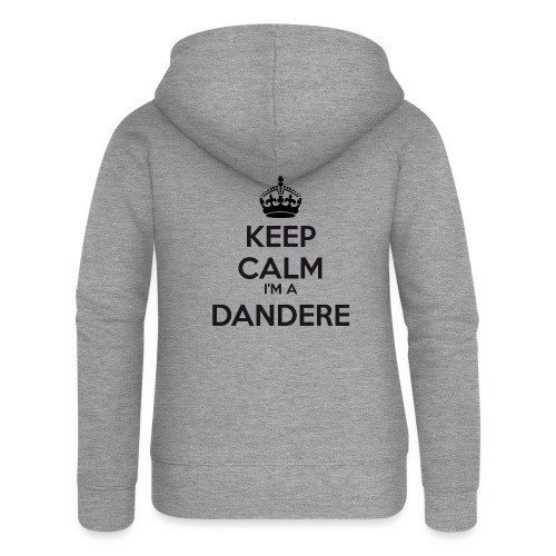 Dandere keep calm - Women's Premium Hooded Jacket