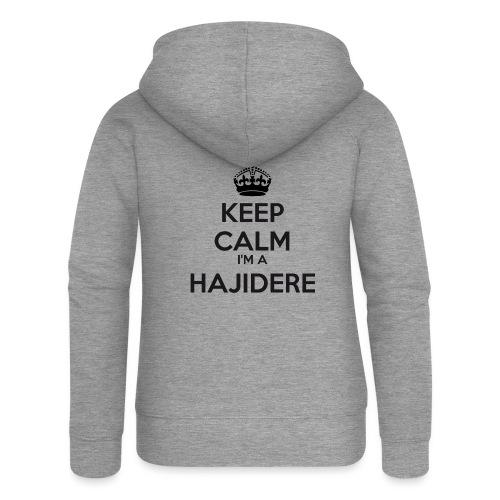 Hajidere keep calm - Women's Premium Hooded Jacket