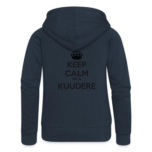 Kuudere keep calm - Women's Premium Hooded Jacket