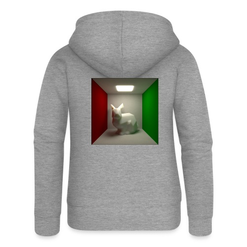Bunny in a Box - Women's Premium Hooded Jacket