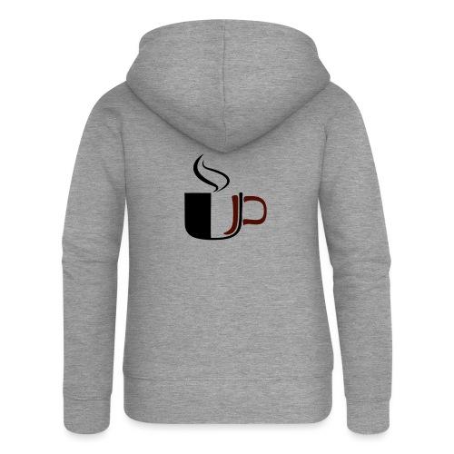 JU Kahvikuppi logo - Naisten Girlie svetaritakki premium