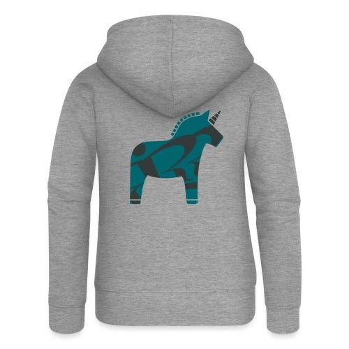 Swedish Unicorn - Frauen Premium Kapuzenjacke