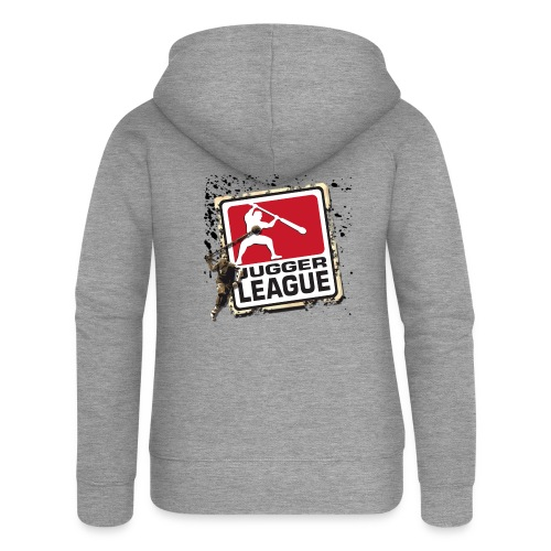Jugger LigaLogo Splash - Frauen Premium Kapuzenjacke
