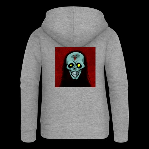 Ghost skull - Women's Premium Hooded Jacket