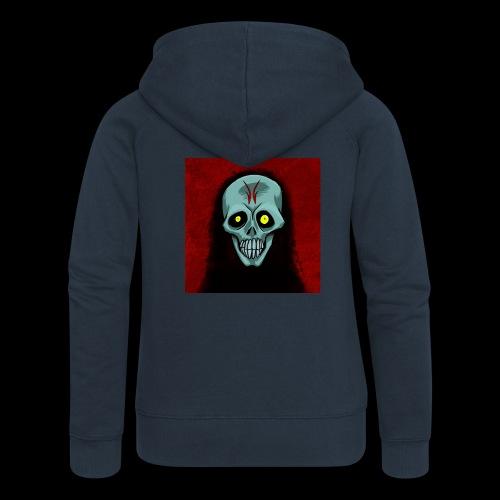 Ghost skull - Women's Premium Hooded Jacket