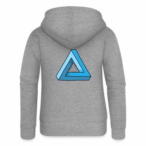Triangular - Frauen Premium Kapuzenjacke