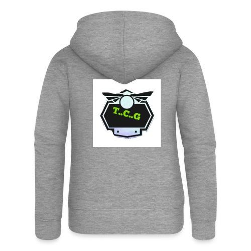 Cool gamer logo - Women's Premium Hooded Jacket