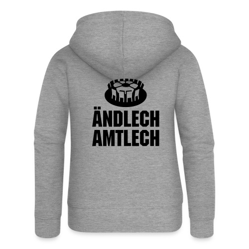 Amtl. bew. Meistershirt - Frauen Premium Kapuzenjacke