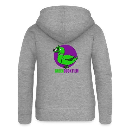 Greenduck Film Purple Sun Logo - Dame Premium hættejakke