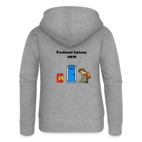 Festivalsaison 2018 - Frauen Premium Kapuzenjacke