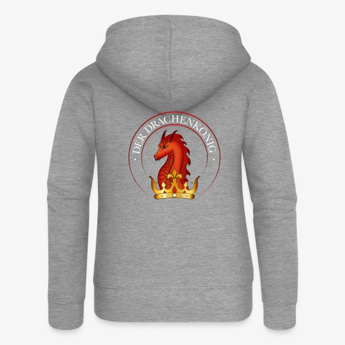 Der Drachenkönig Logo - Frauen Premium Kapuzenjacke