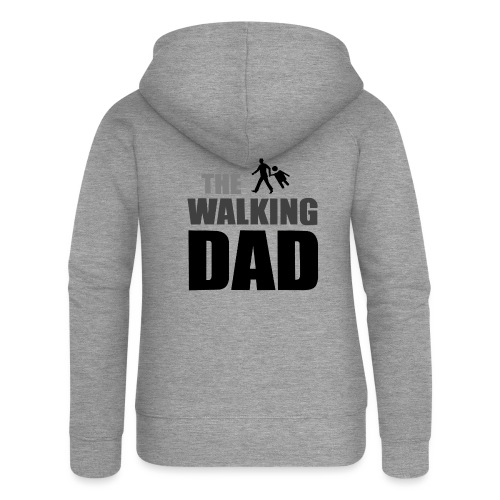 the walking dad auf dem Weg in die lustige Bar - Frauen Premium Kapuzenjacke