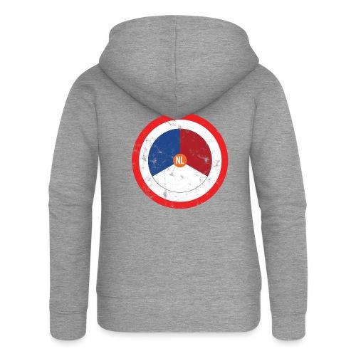 NL washed logo - Vrouwenjack met capuchon Premium