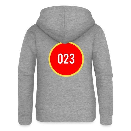 023 logo 2 - Vrouwenjack met capuchon Premium
