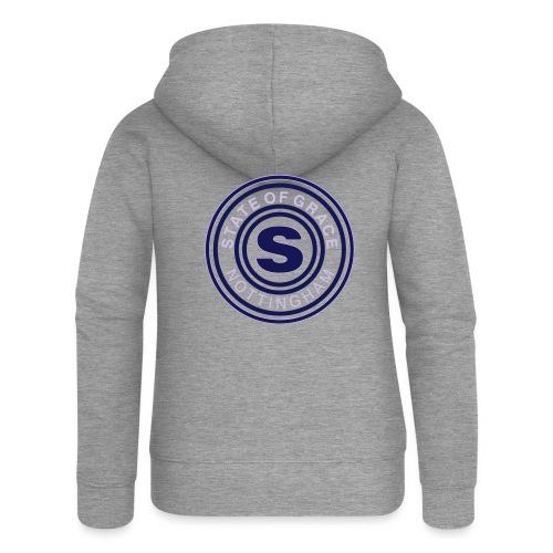 state of grace logo - Women's Premium Hooded Jacket