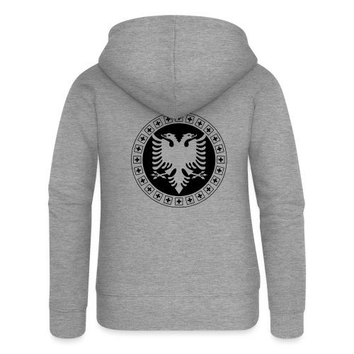 Albanien Schweiz Shirt - Frauen Premium Kapuzenjacke