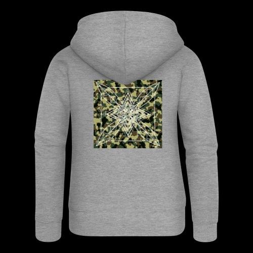 CamoDala - Women's Premium Hooded Jacket