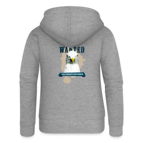 WANTED - Fischbrötchendieb - Frauen Premium Kapuzenjacke
