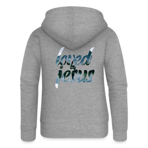 LOVED BY JESUS - Women's Premium Hooded Jacket