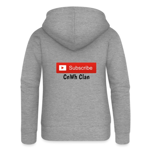 Subscribe CnWh Clan Merch - Premium luvjacka dam