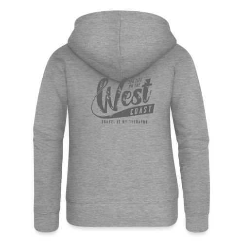 West Coast Sea surf clothes and gifts GP1306B - Naisten Girlie svetaritakki premium