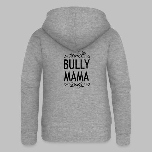 Stolze Bully Mama - Motiv mit Schmetterling - Frauen Premium Kapuzenjacke