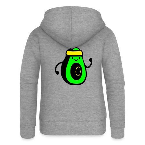 aguacate ninja - Chaqueta con capucha premium mujer