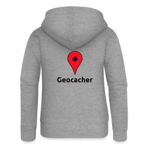 Geocacher - Frauen Premium Kapuzenjacke
