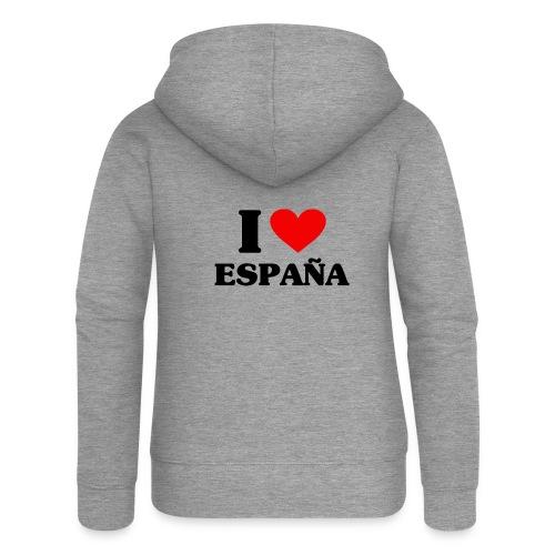 I love Espana - Frauen Premium Kapuzenjacke