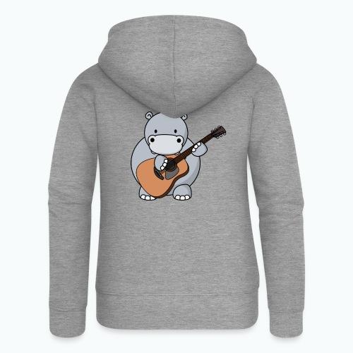 Henri Hippo Guitar - Appelsin - Premium luvjacka dam