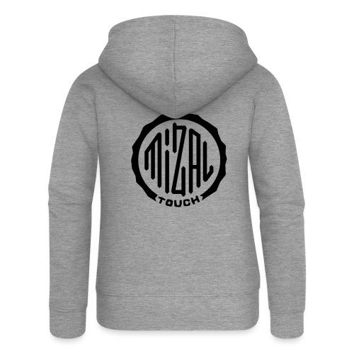 Mizal Touch Certified - Rozpinana bluza damska z kapturem Premium
