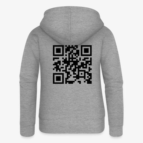 QR Code - Women's Premium Hooded Jacket