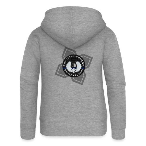 TFS Badge Black - Veste à capuche Premium Femme