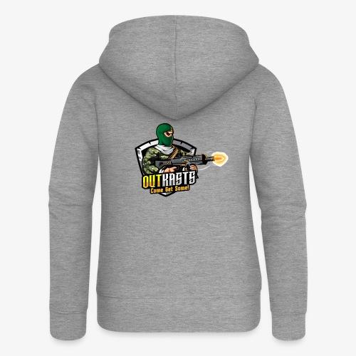 OutKasts [OKT] Logo 1 - Women's Premium Hooded Jacket