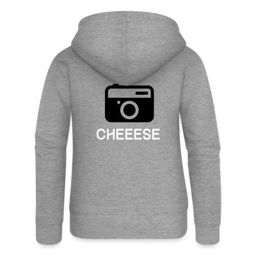 Cheese Fotograf Kamera - Frauen Premium Kapuzenjacke