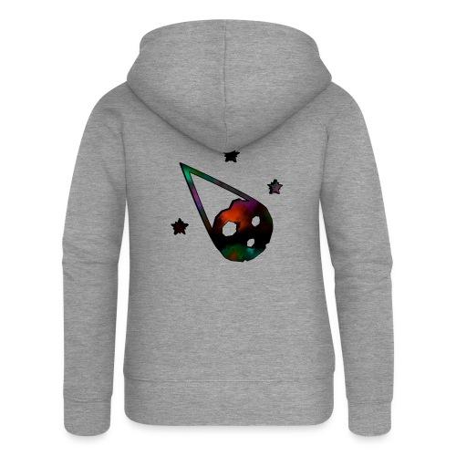logo interestelar - Chaqueta con capucha premium mujer