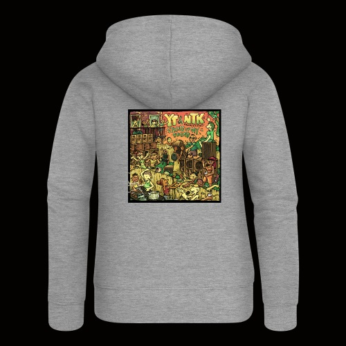String Up My Sound Artwork - Women's Premium Hooded Jacket