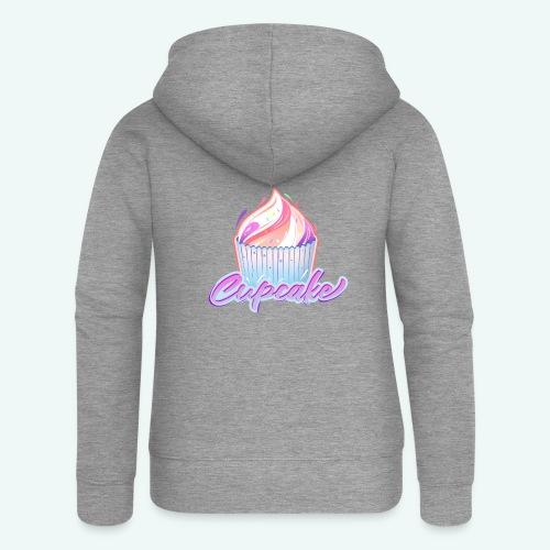 Cupcake - Frauen Premium Kapuzenjacke