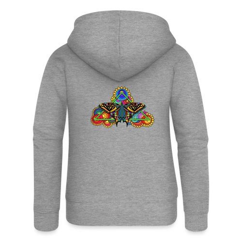 Happy Butterfly! - Frauen Premium Kapuzenjacke