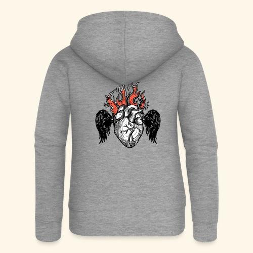 Sacred Heart - Chaqueta con capucha premium mujer