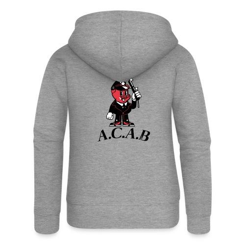 A.C.A.B cochon - Veste à capuche Premium Femme