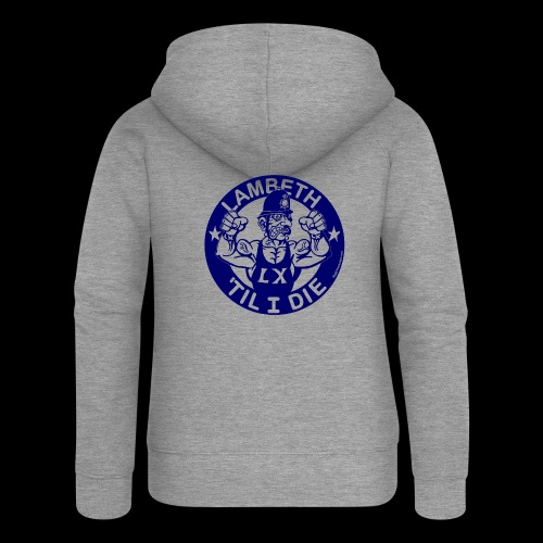 LAMBETH - NAVY BLUE - Women's Premium Hooded Jacket