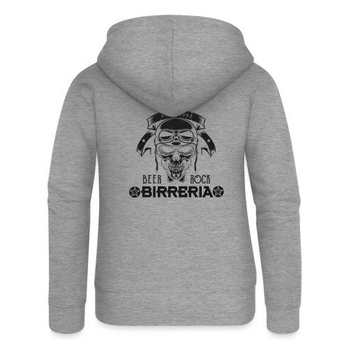 Classic Birreria Rock Skull - Frauen Premium Kapuzenjacke
